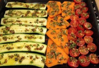 Légumes gratinés à la Krief
