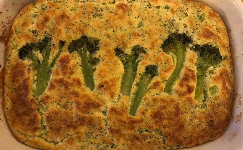 Soufflé di broccoli